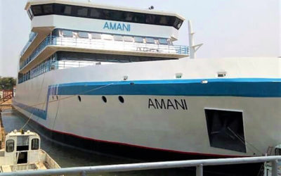 « AMANI » Le plus grand bateau du Lac Tanganyika en Afrique