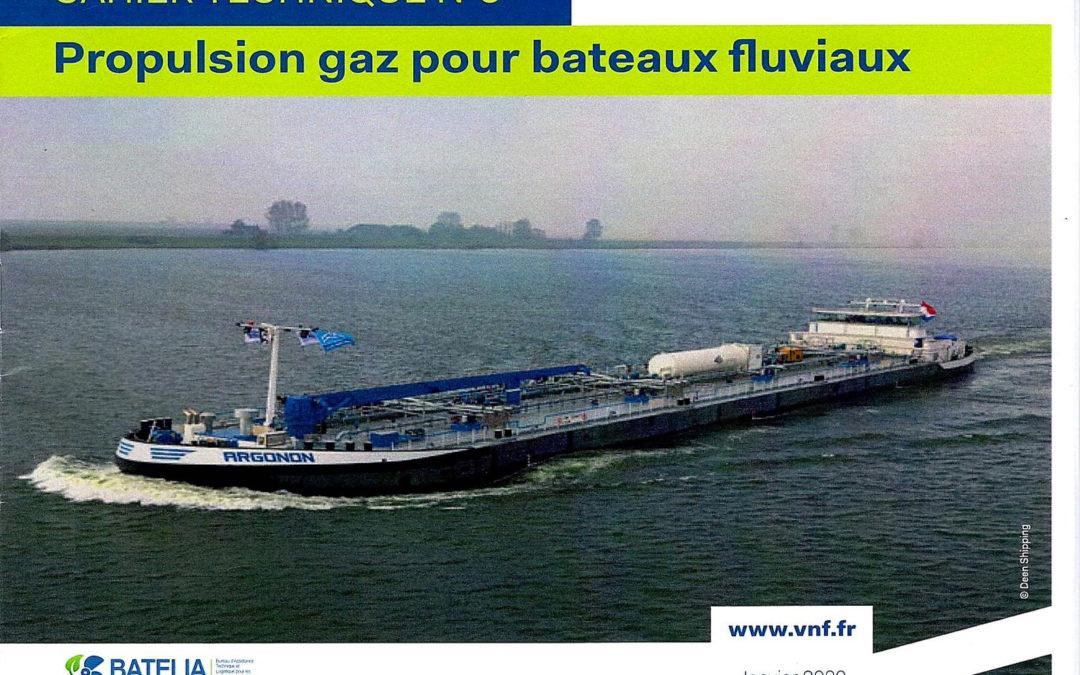 Propulsion Gaz et Verdissement de la flotte fluviale